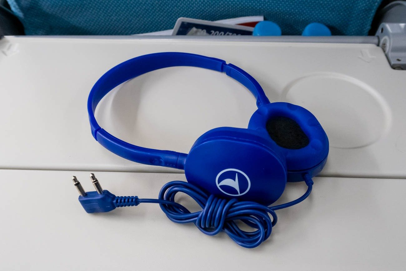 Turkish Airlines Economy Class Headphones