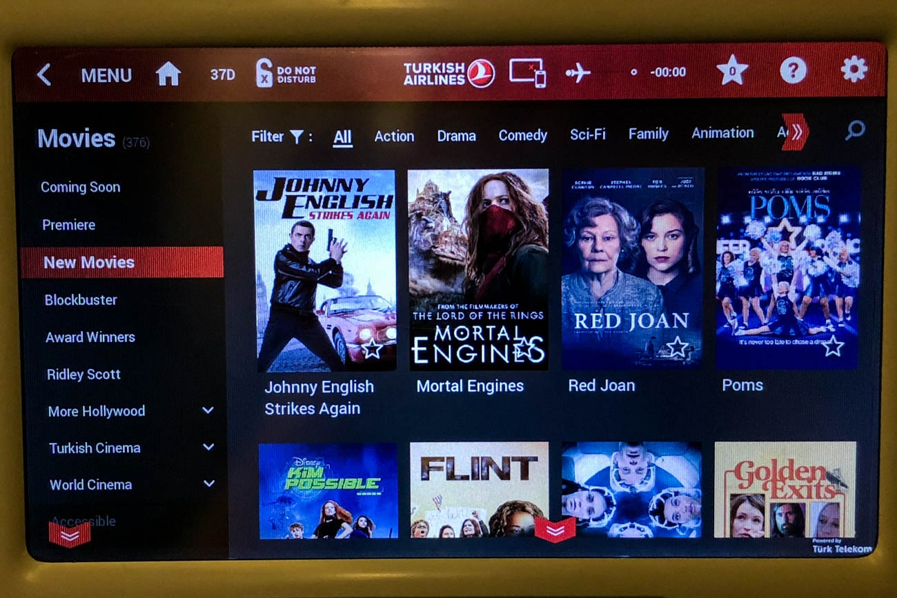Turkish Airlines Movies