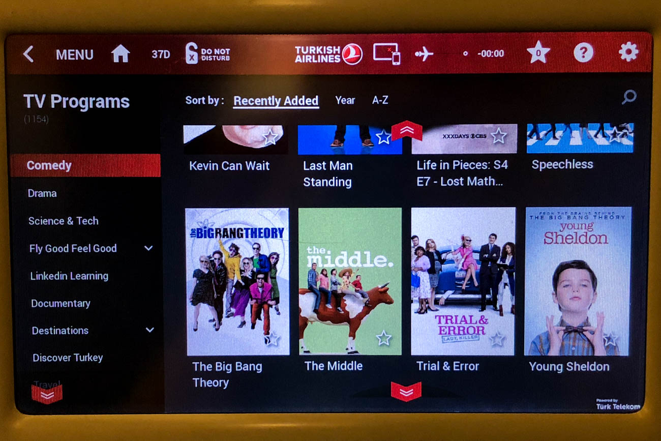 Turkish Airlines TV Shows