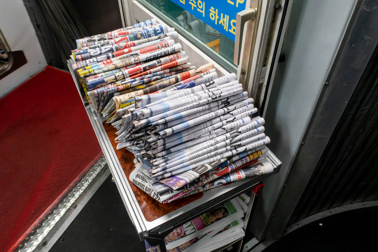 Turkish Airlines Free Newspapers