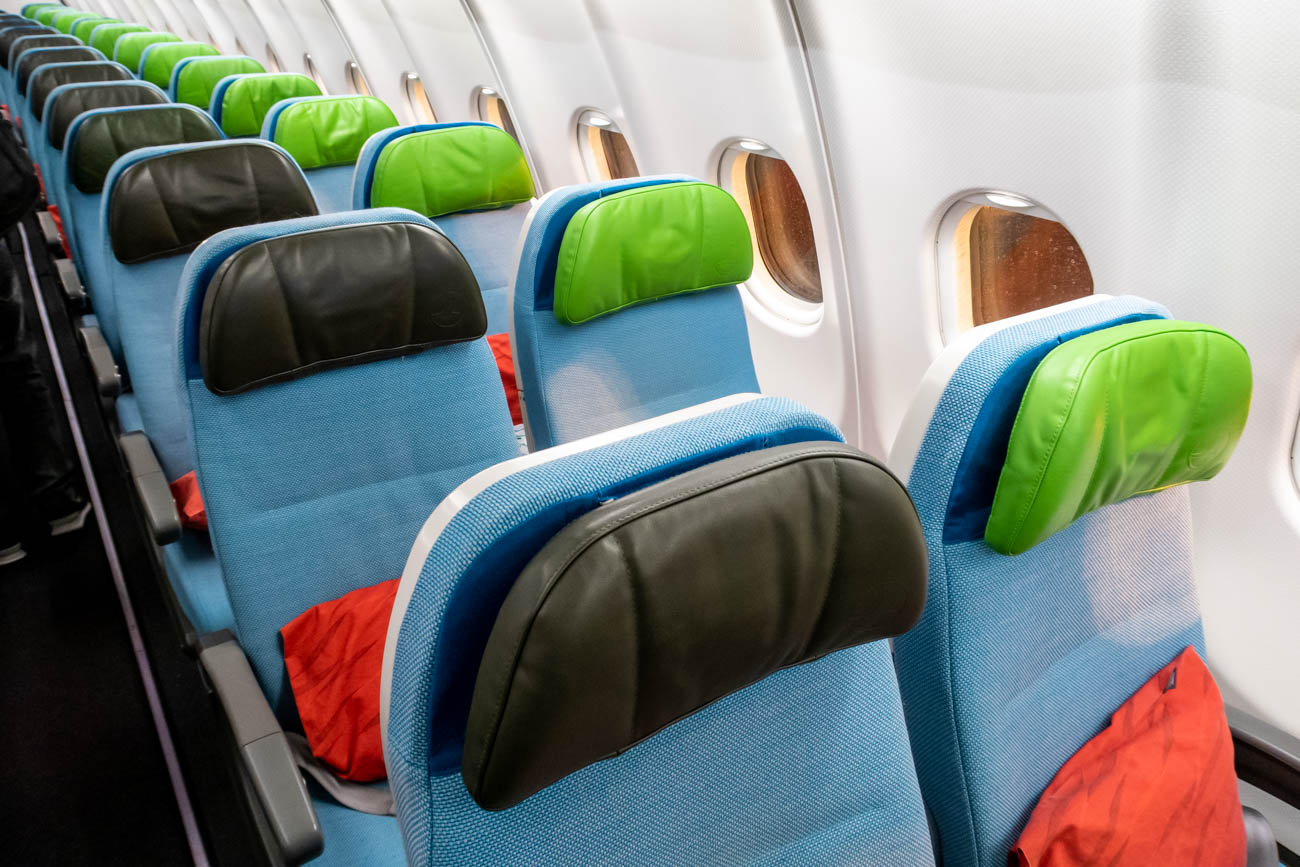 Turkish Airlines A330-300 Economy Class Seat