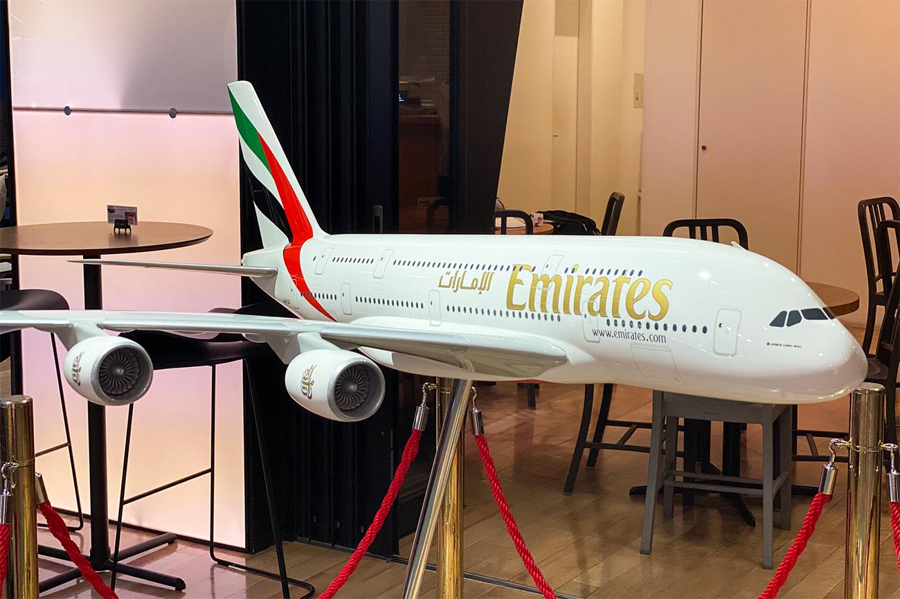 Emirates A380 Model