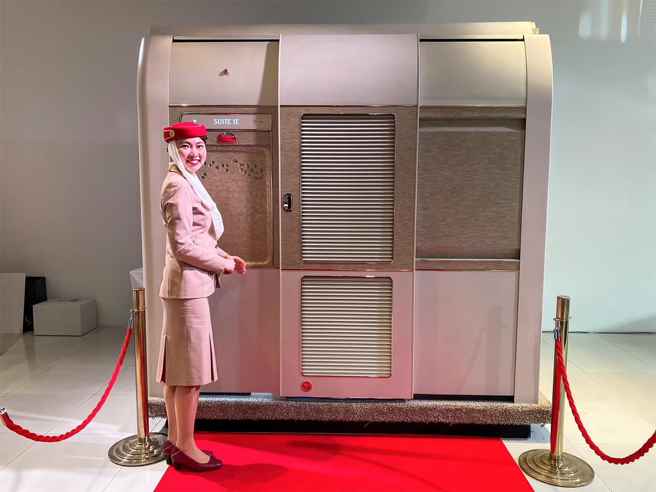 Emirates New First Class Suite
