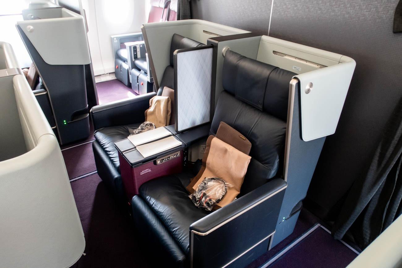 JAL A350 first class seats.