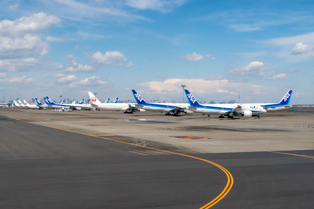 Haneda Airport Aircraft