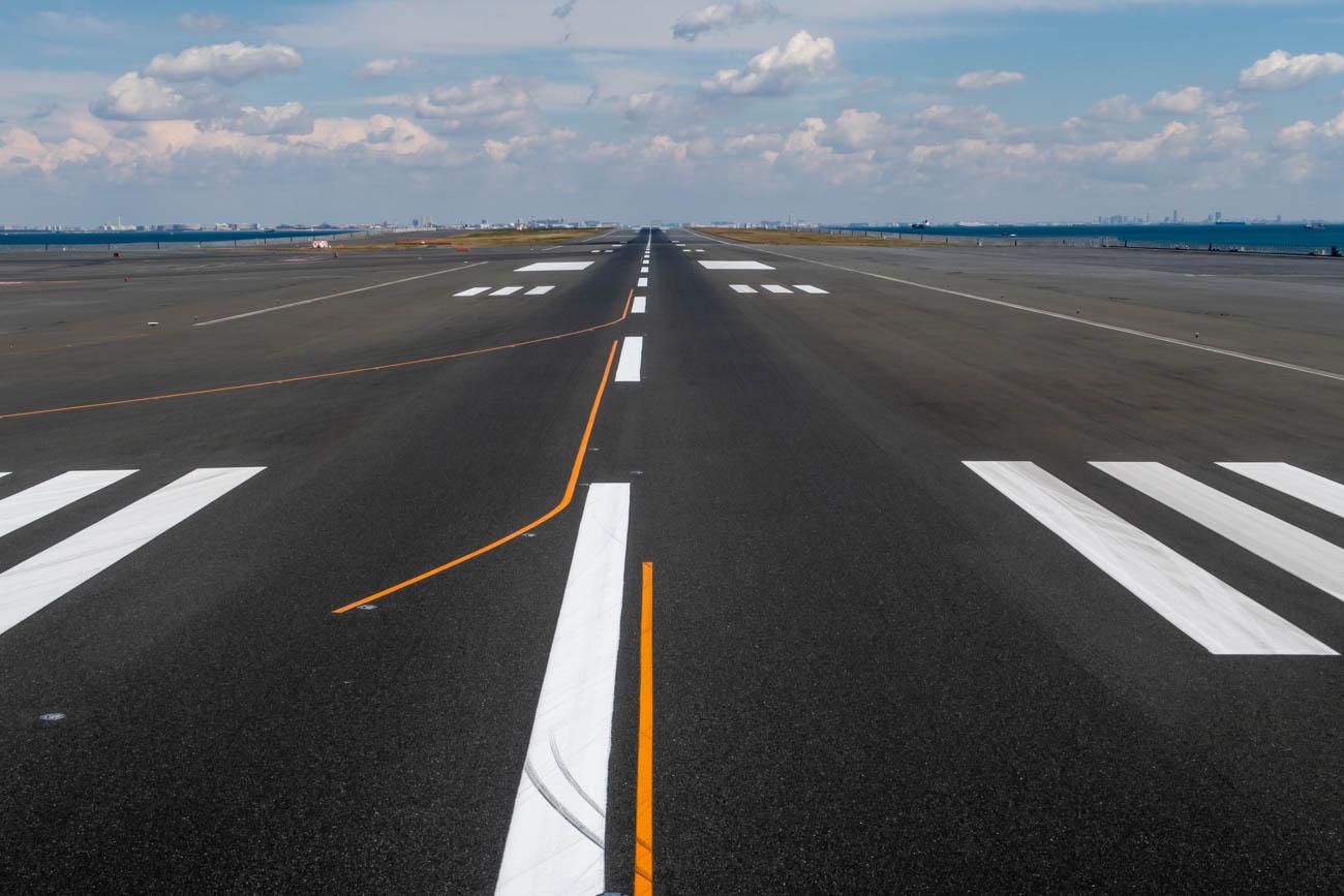 Haneda Airport Runway 05