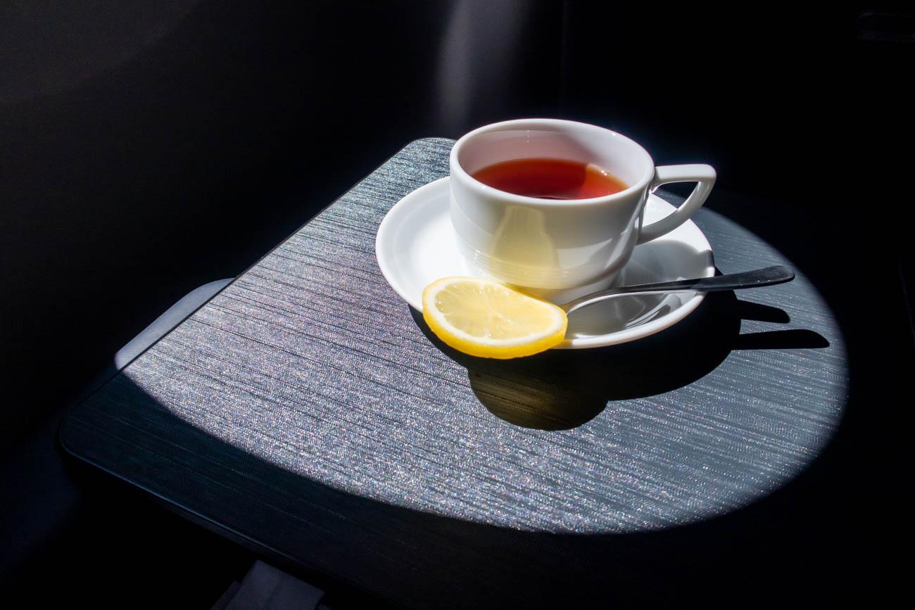 JAL A350 First Class Tea
