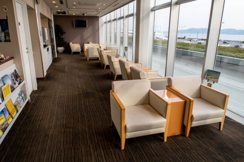 Nagasaki Business Lounge Azalea Seating