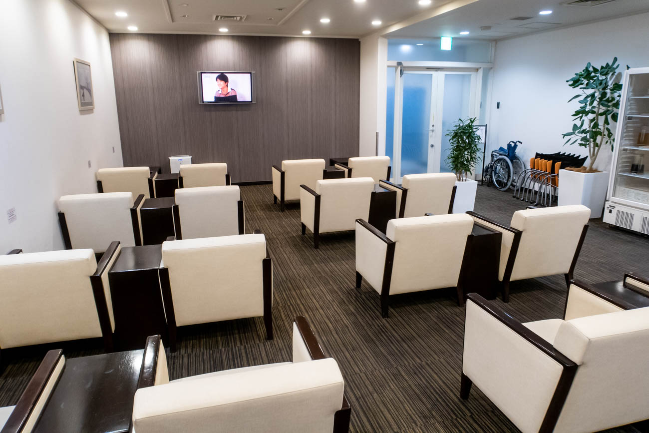 Nagasaki Business Lounge Azalea Seating