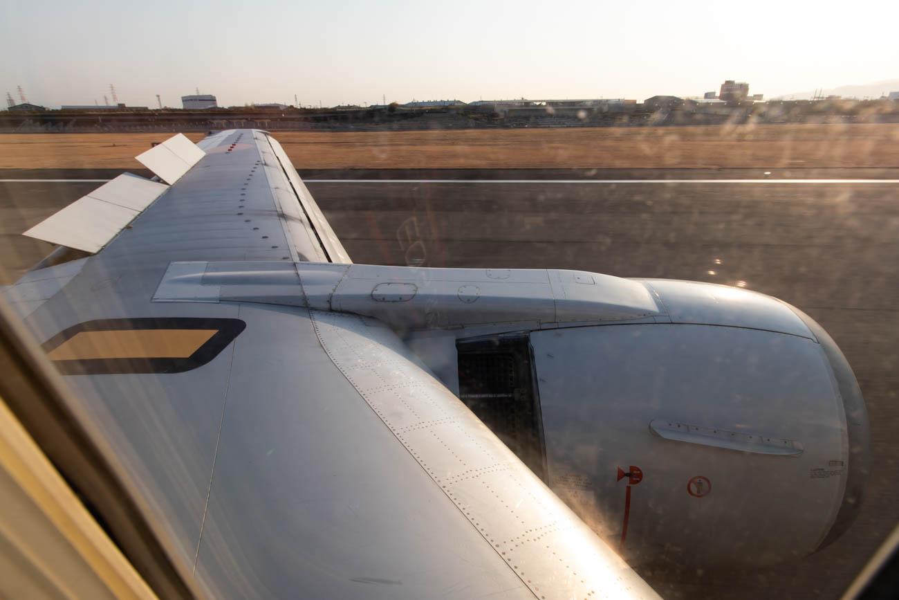 ANA 737-500 Reversers