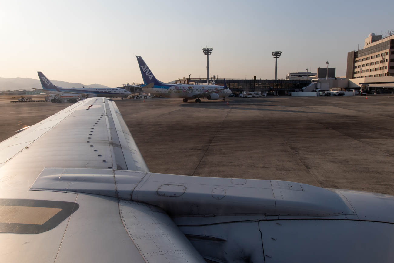 ANA 737-500 and 737-800