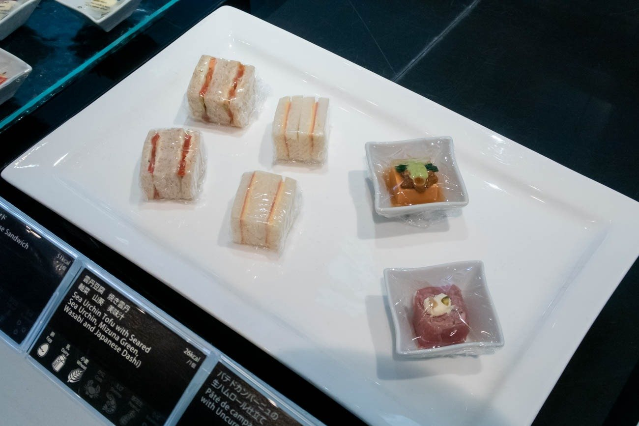 ANA Suite Lounge Sandwiches
