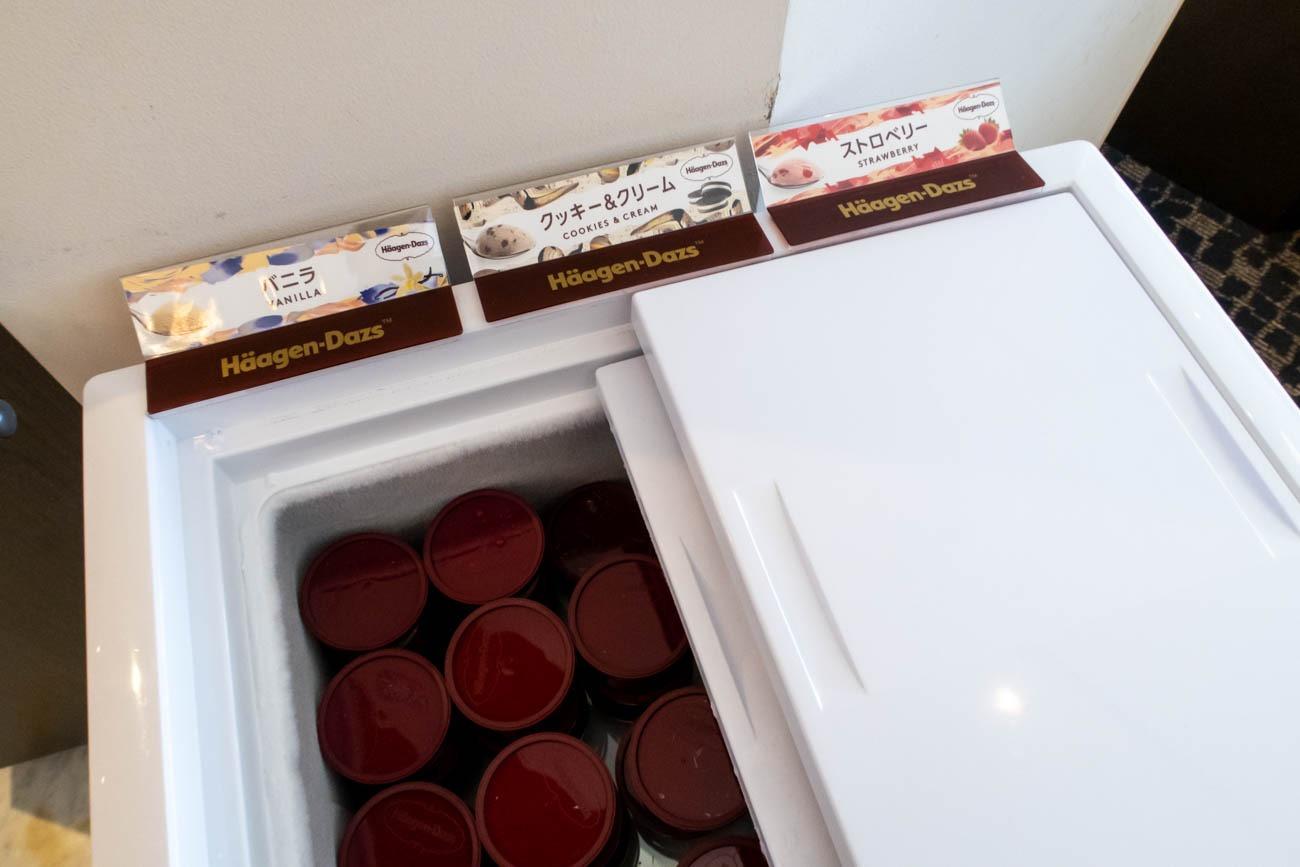 ANA Suite Lounge Ice Cream