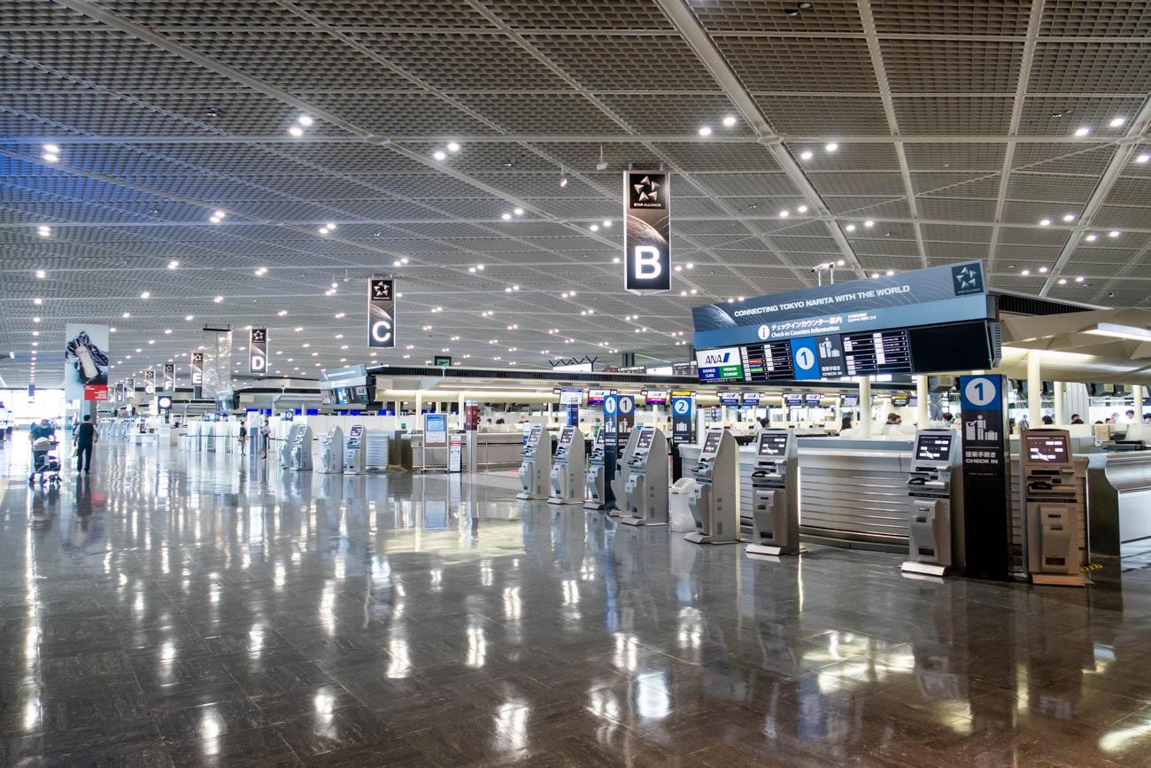 Tokyo Narita Airport During COVID-19