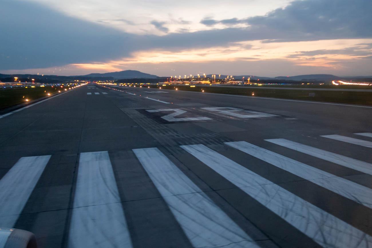 Zurich Airport Runway 28
