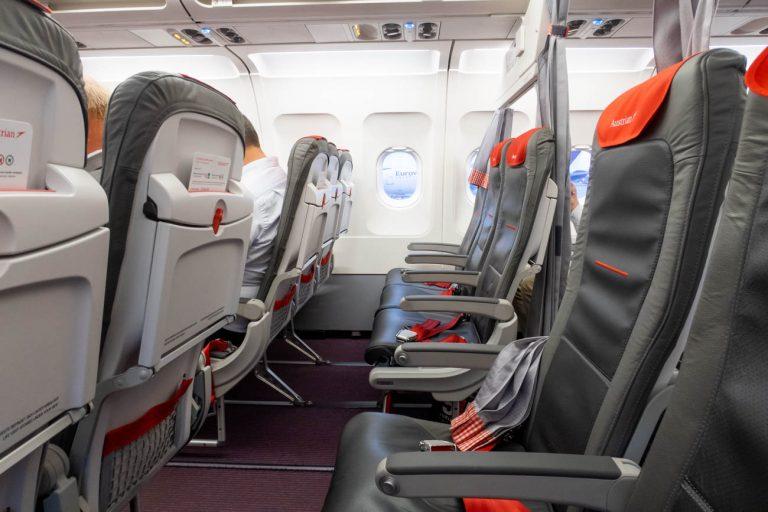 Austrian Airlines A319 Business Class Seats