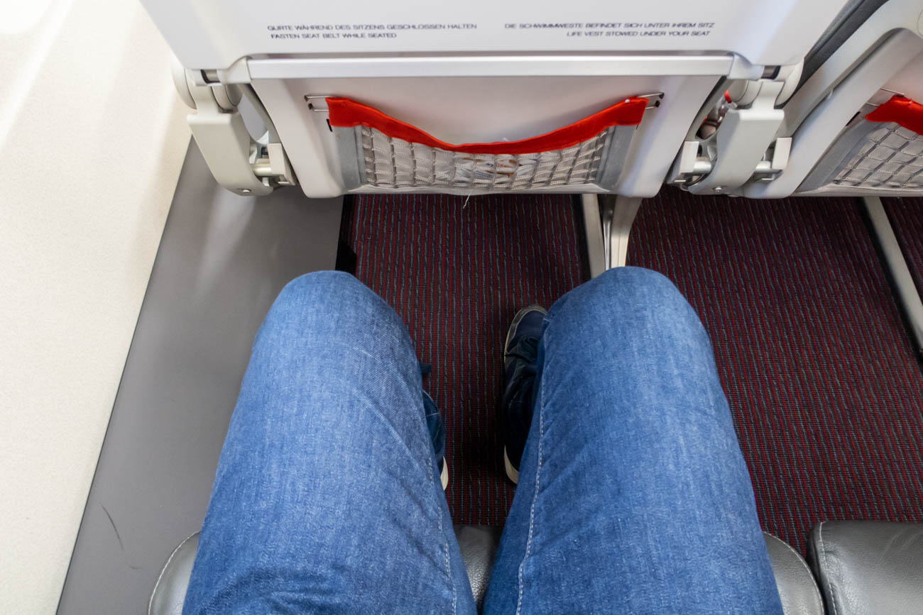 Austrian Airlines A319 Legroom