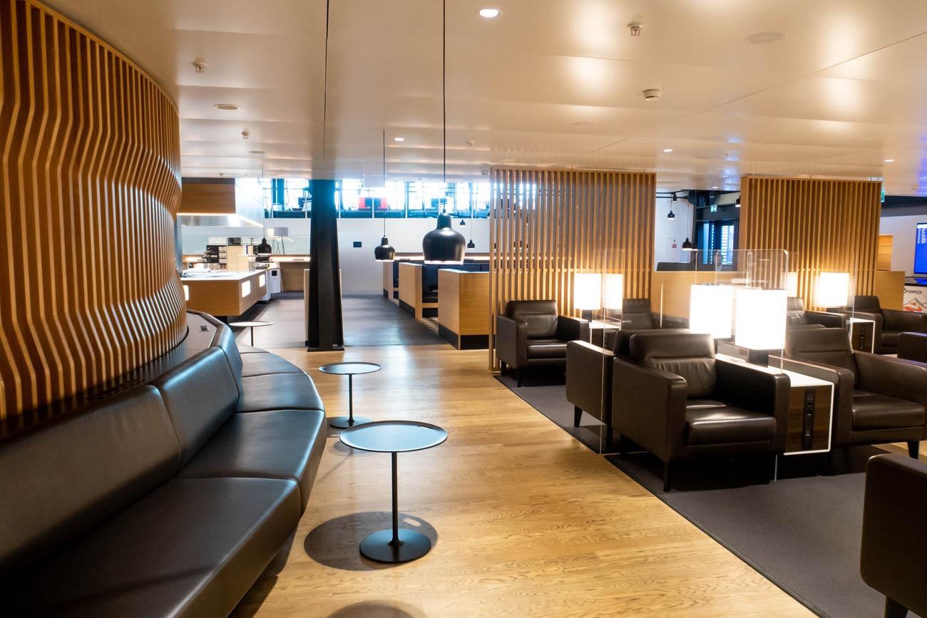 Swiss Senator Lounge at Zurich Airport