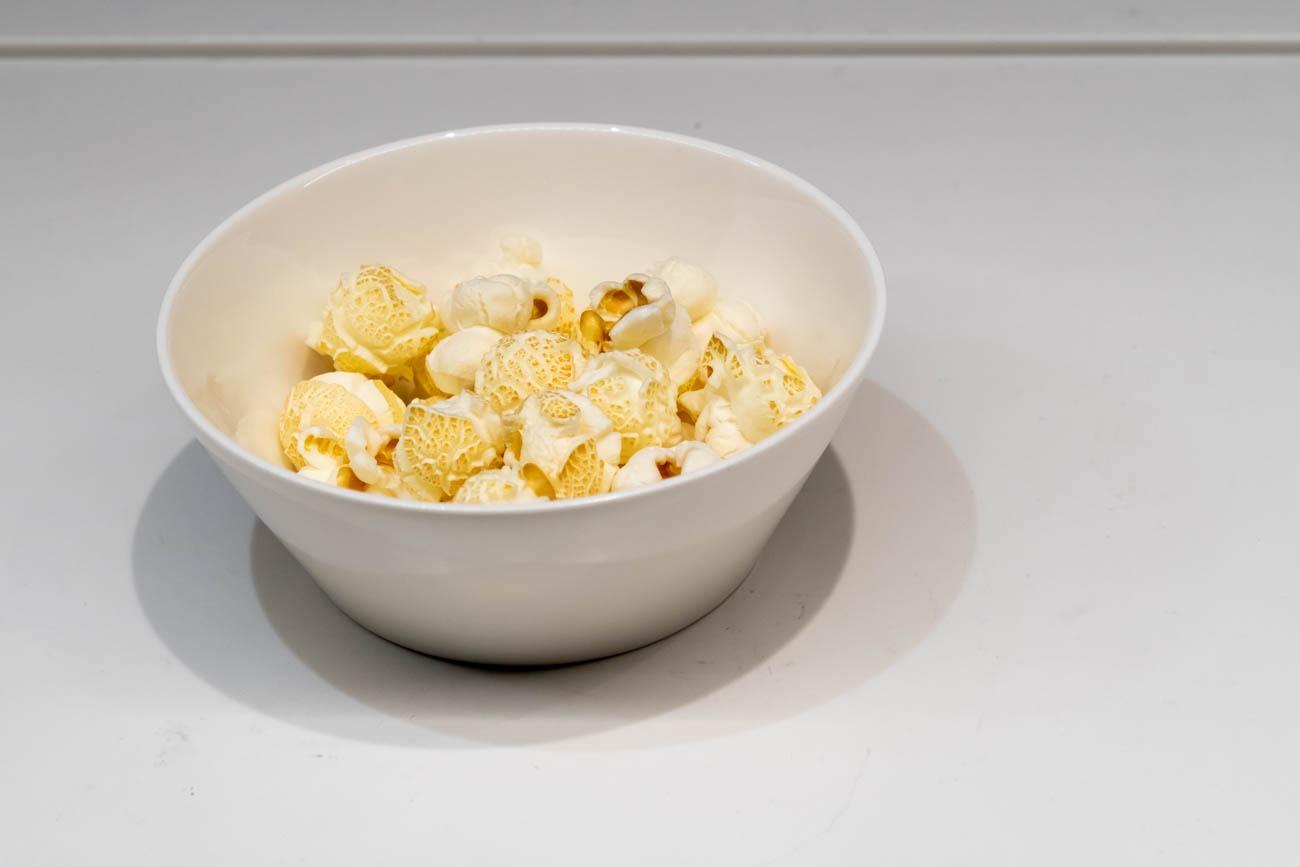 Swiss Senator Lounge at Zurich Airport Popcorn
